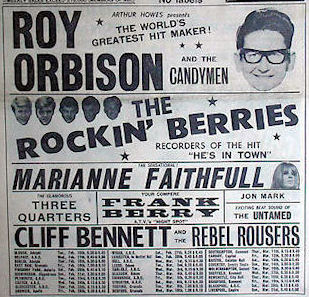 Concerts Amp Package Tours 1965 January To February